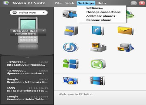 Скачать Нокиа PC Suite для Виндовс 8