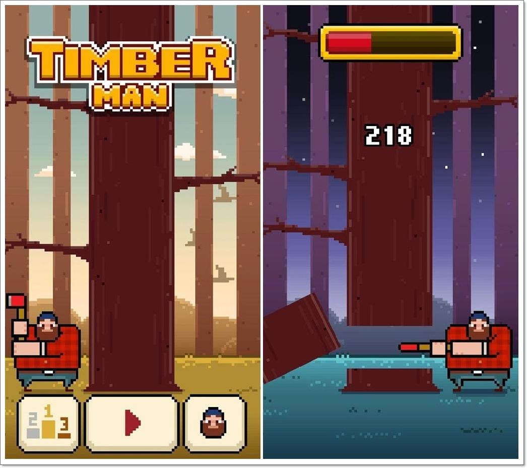 Timberman game
