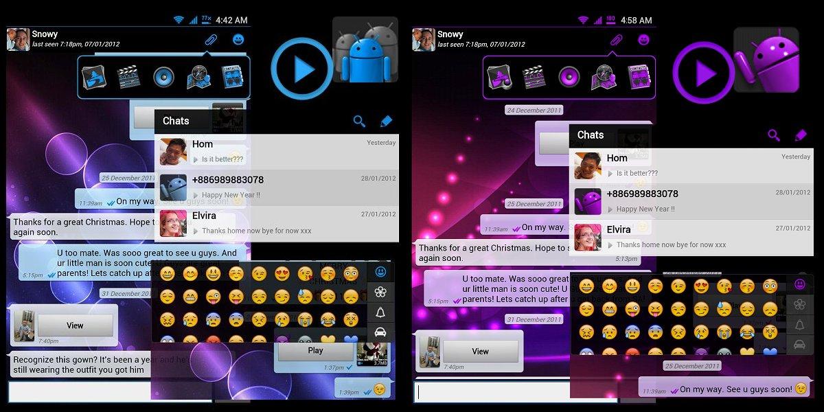 WhatsApp Plus Themes