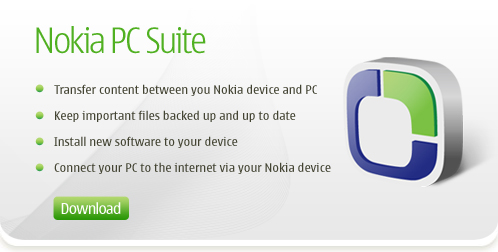 Nokia PC Suite Features