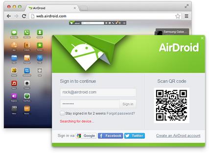 AirDroid Ubuntu