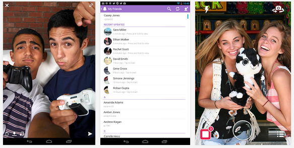 Download Snapchat Android app