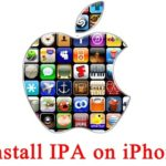Install iPa on iPhone