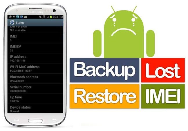 Restore Lost IMEI on Samsung Galaxy