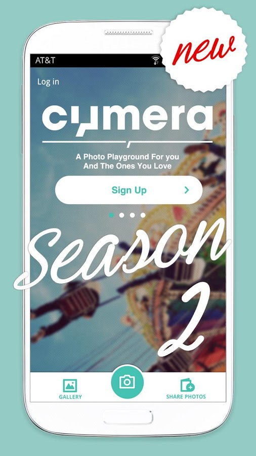 Cymera Android app