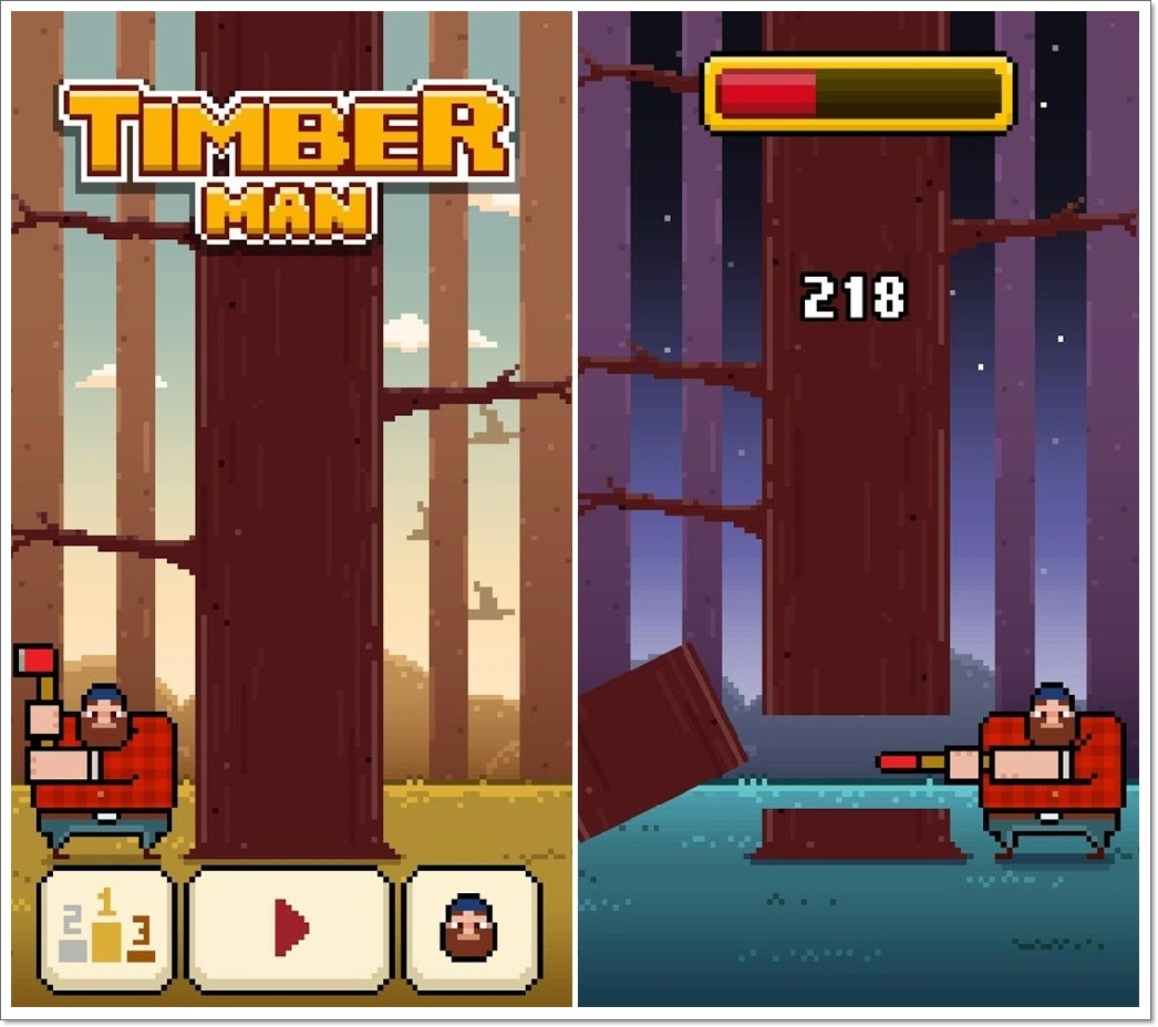 Timberman apk for Android
