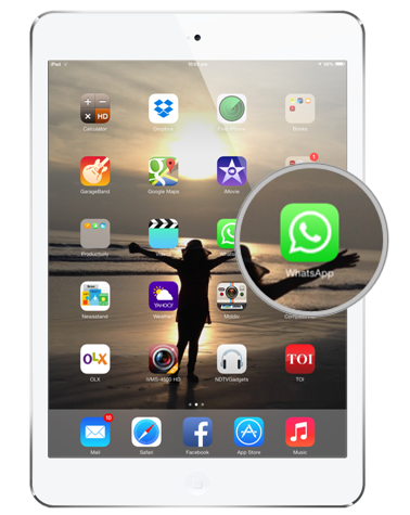 WhatsApp for iPad, iPod