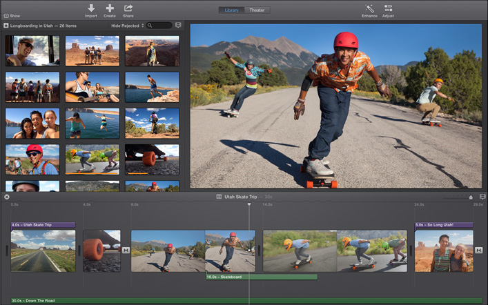 iMovie for Mac PC