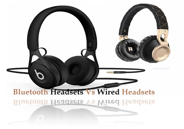 Bluetooth headsets vs wired headsets